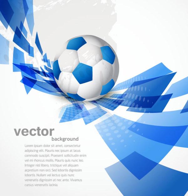 Abstract Football Vector