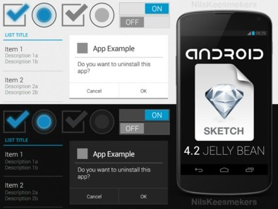 Android-App Sketch Template