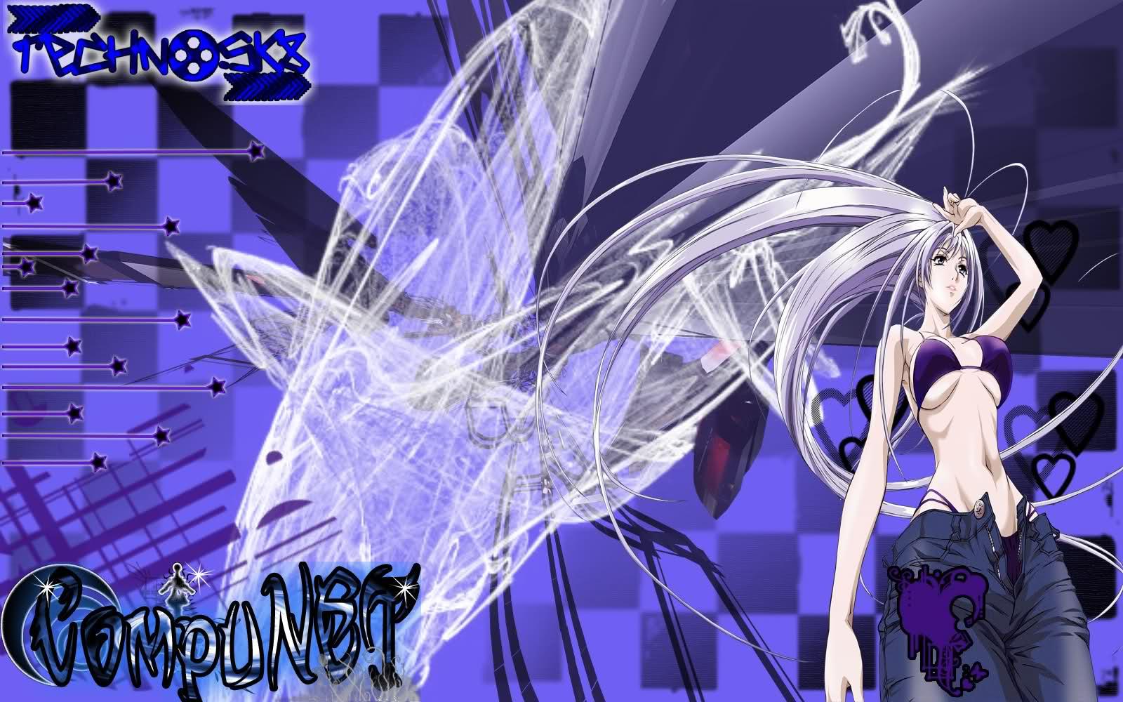 Anime Techno Girl