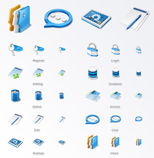 15 Free Web Application Icons Images