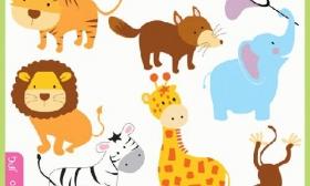 Baby Animal Clip Art