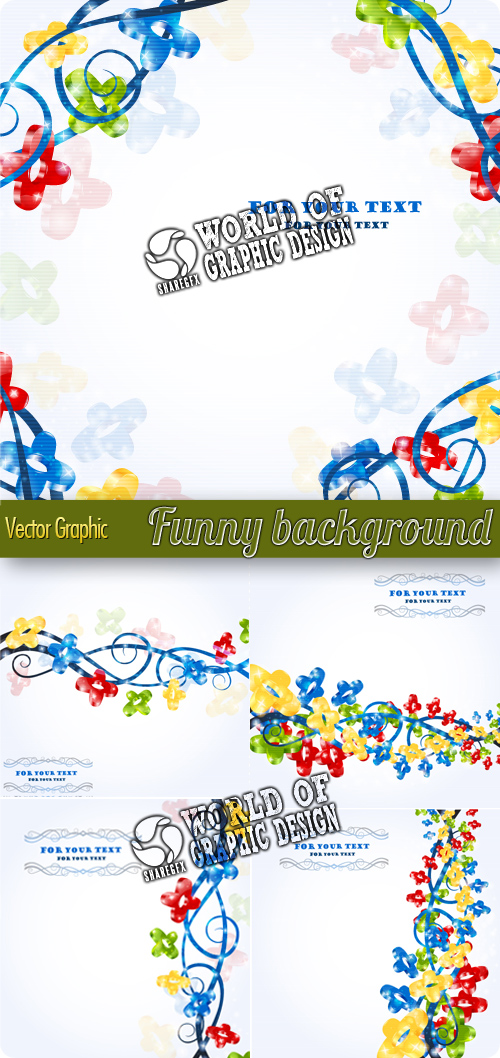 12 Fun Backgrounds Free PSD Images