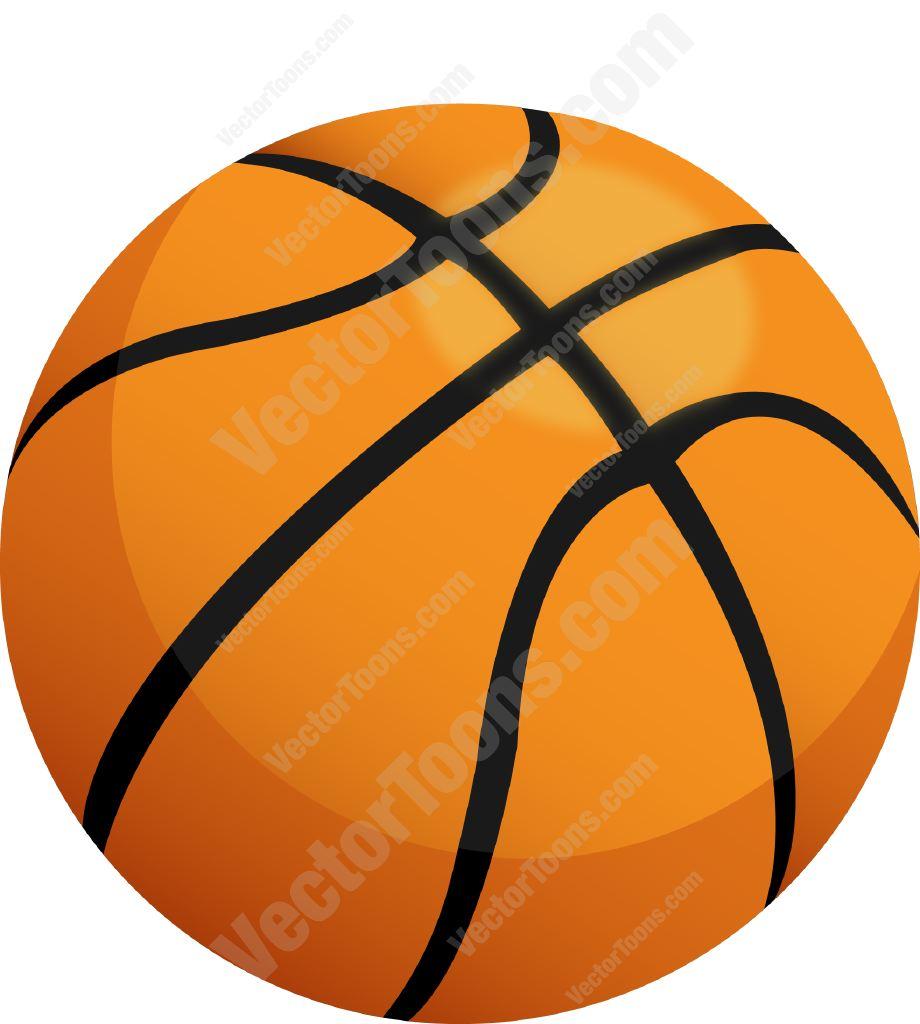 Basketball Clip Art Orange