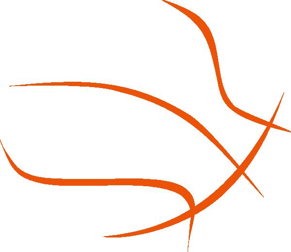 Basketball Outline Clip Art