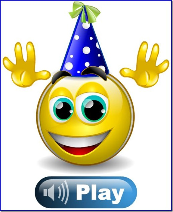 8 Happy Birthday Emoticons Images