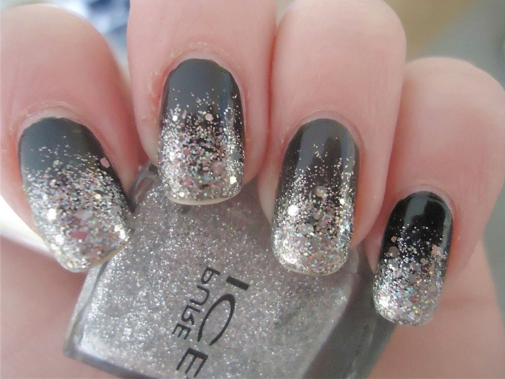 12 Silver Nail Designs Images