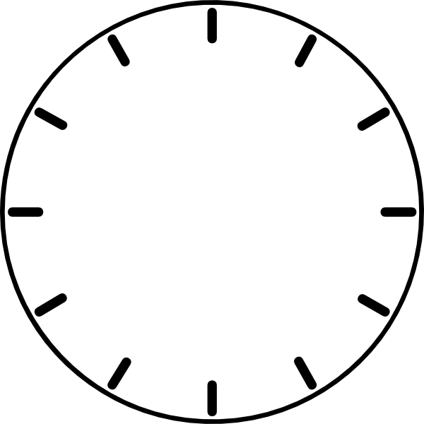 13 Clock Face Vector Free Download Images