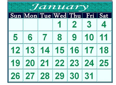 Calendar Templates Psd