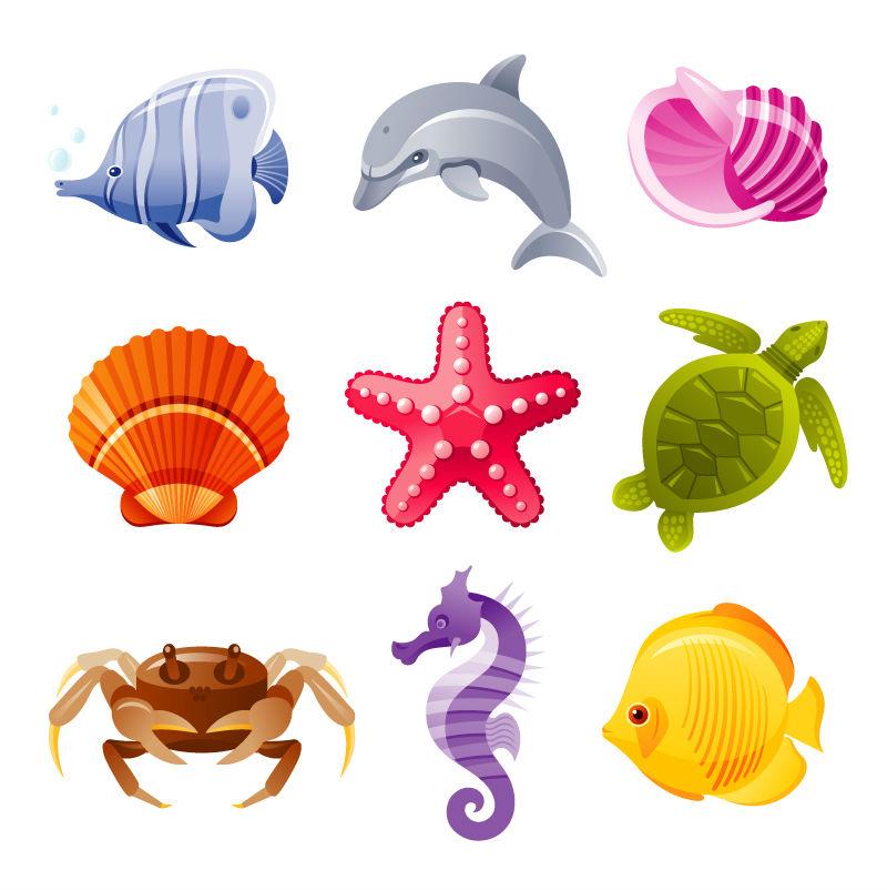 Cartoon Sea Creature Designs