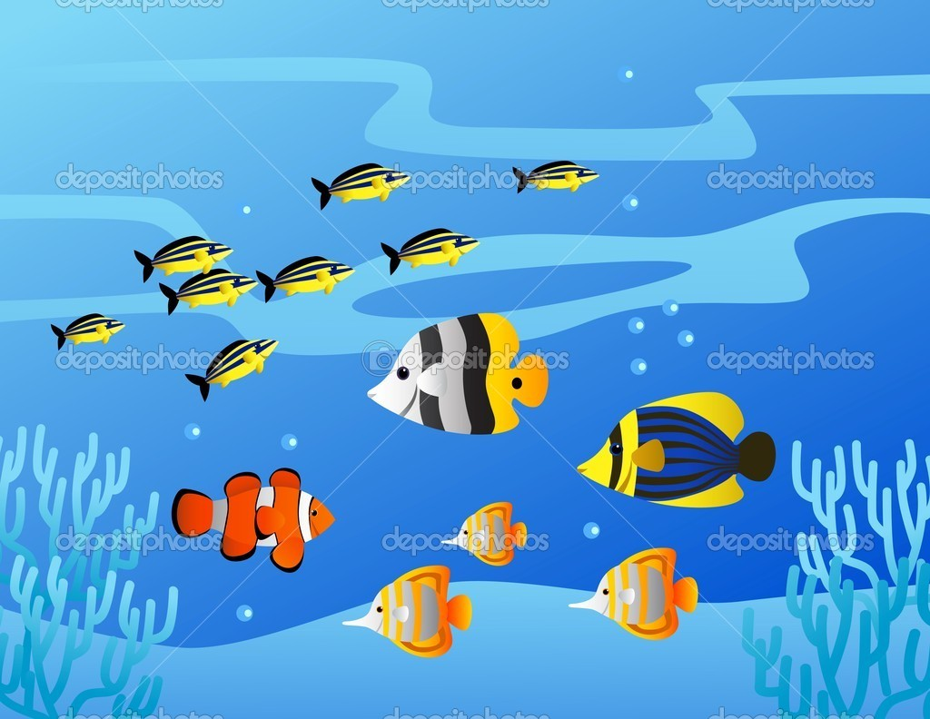 Cartoon Sea Life