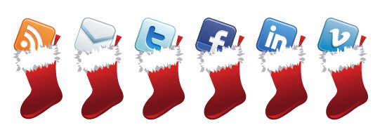 13 Christmas Ball Social Media Icons Images