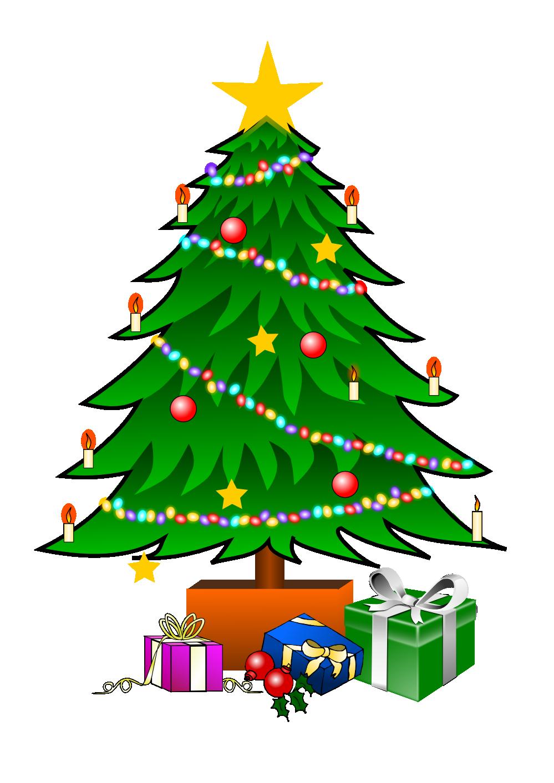 Christmas Tree Graphics Clip Art