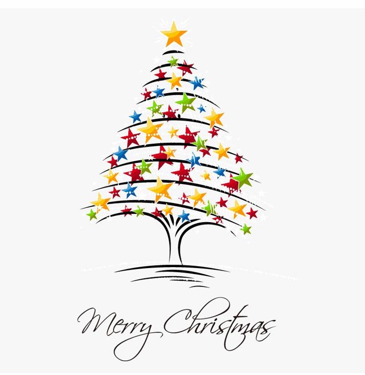 Christmas Tree Vector Art
