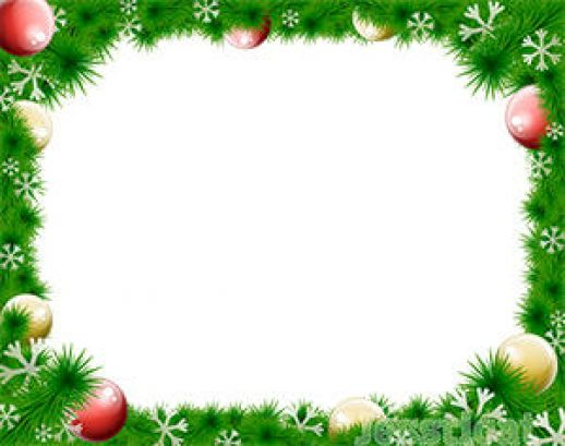13 Vector Christmas Border Free Downloads Images