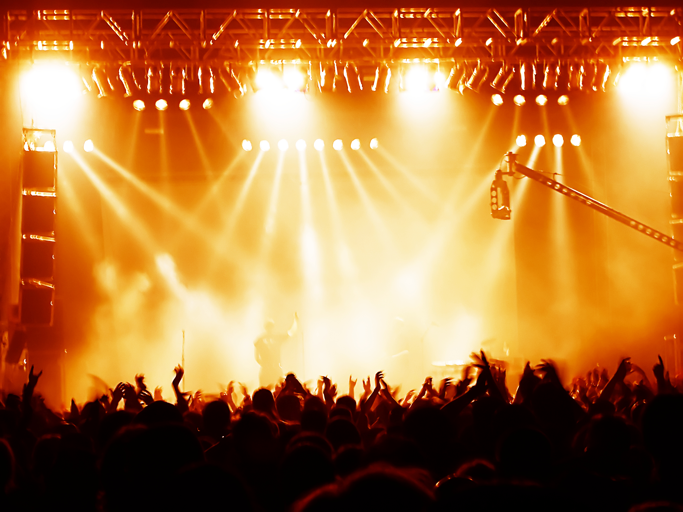 16 Concert Crowd PSD Images