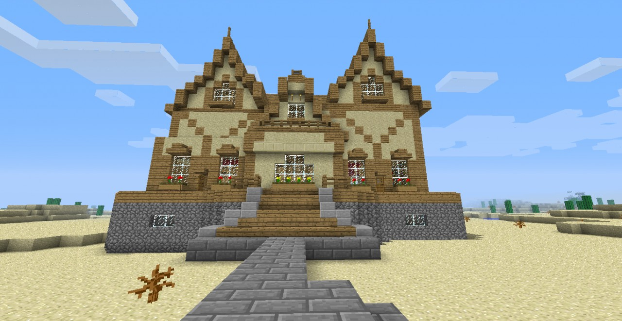 Cool Minecraft House Idea