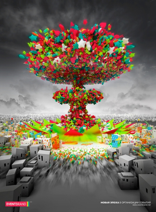 Creative Poster Colorful Design