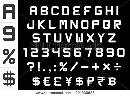 Currency Symbols Font