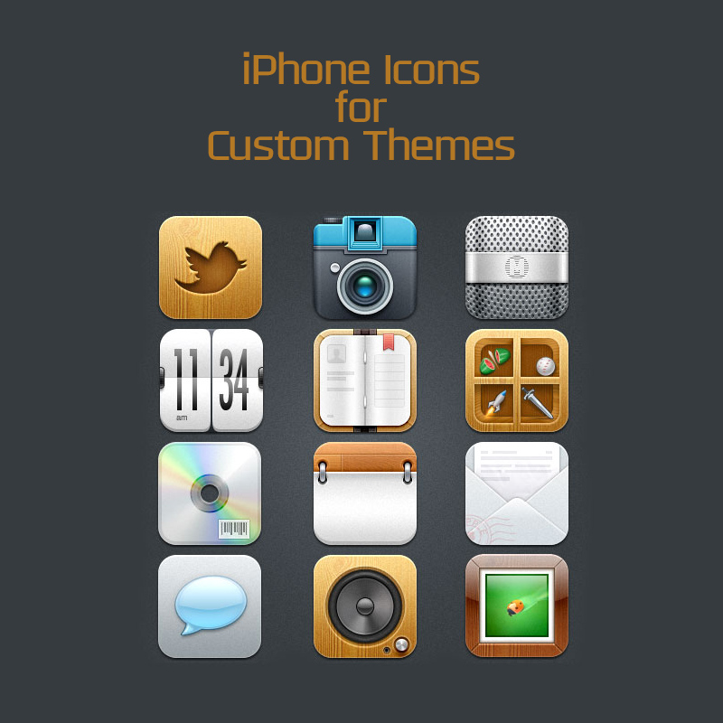 Custom iPhone Icons