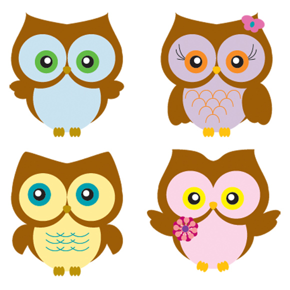 16 Owl Vector EPS Free Download Images