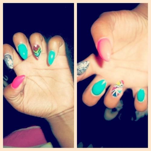 Cute Sharp Nails Tumblr