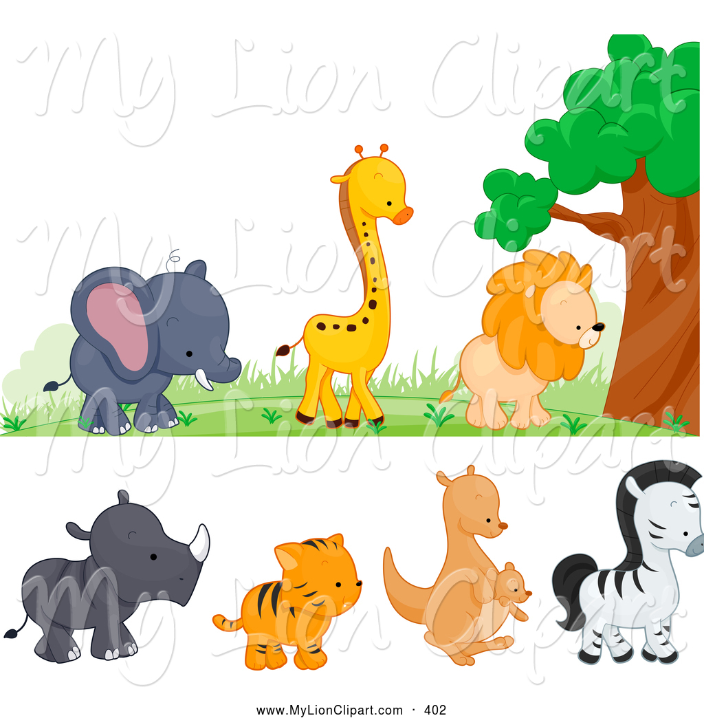 Cute Wild Animal Clip Art