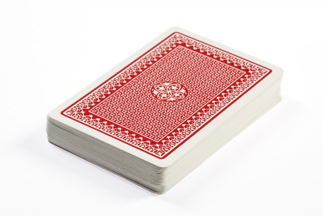 Deck of Playing Cards Clip Art