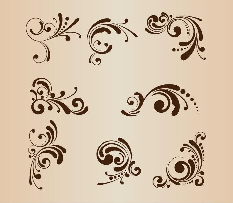 Design Floral Vector Pattern