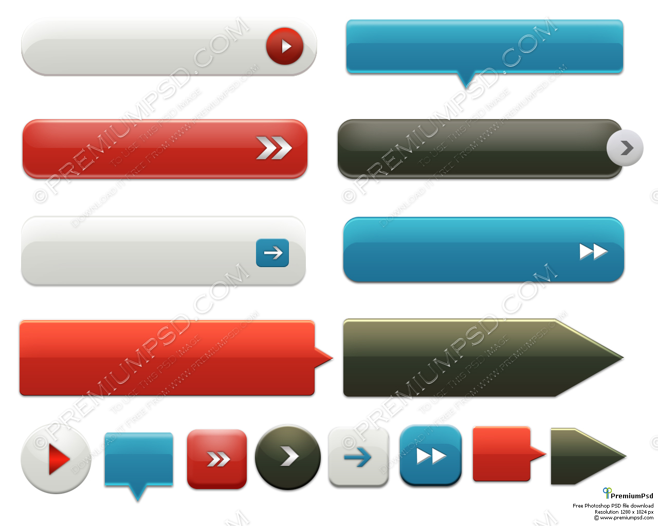 Download Buttons for Website