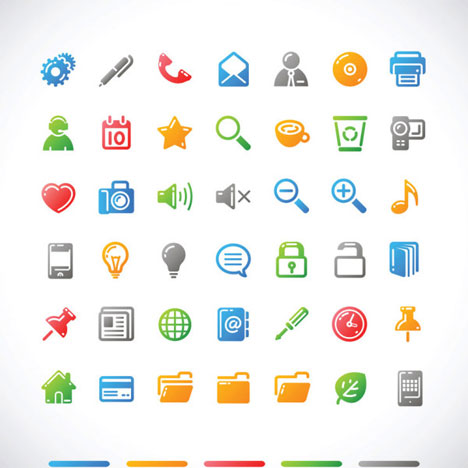 10 Object Icons Vector Images