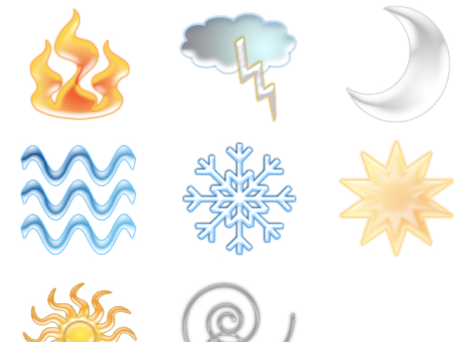 11 Earth Element Icon Images