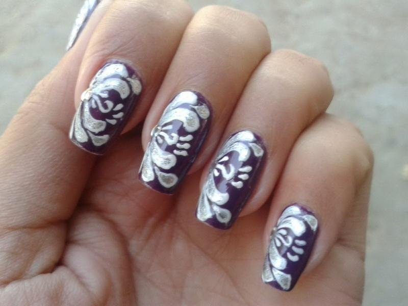 14 Simple Nail Art Designs To Do At Home Images