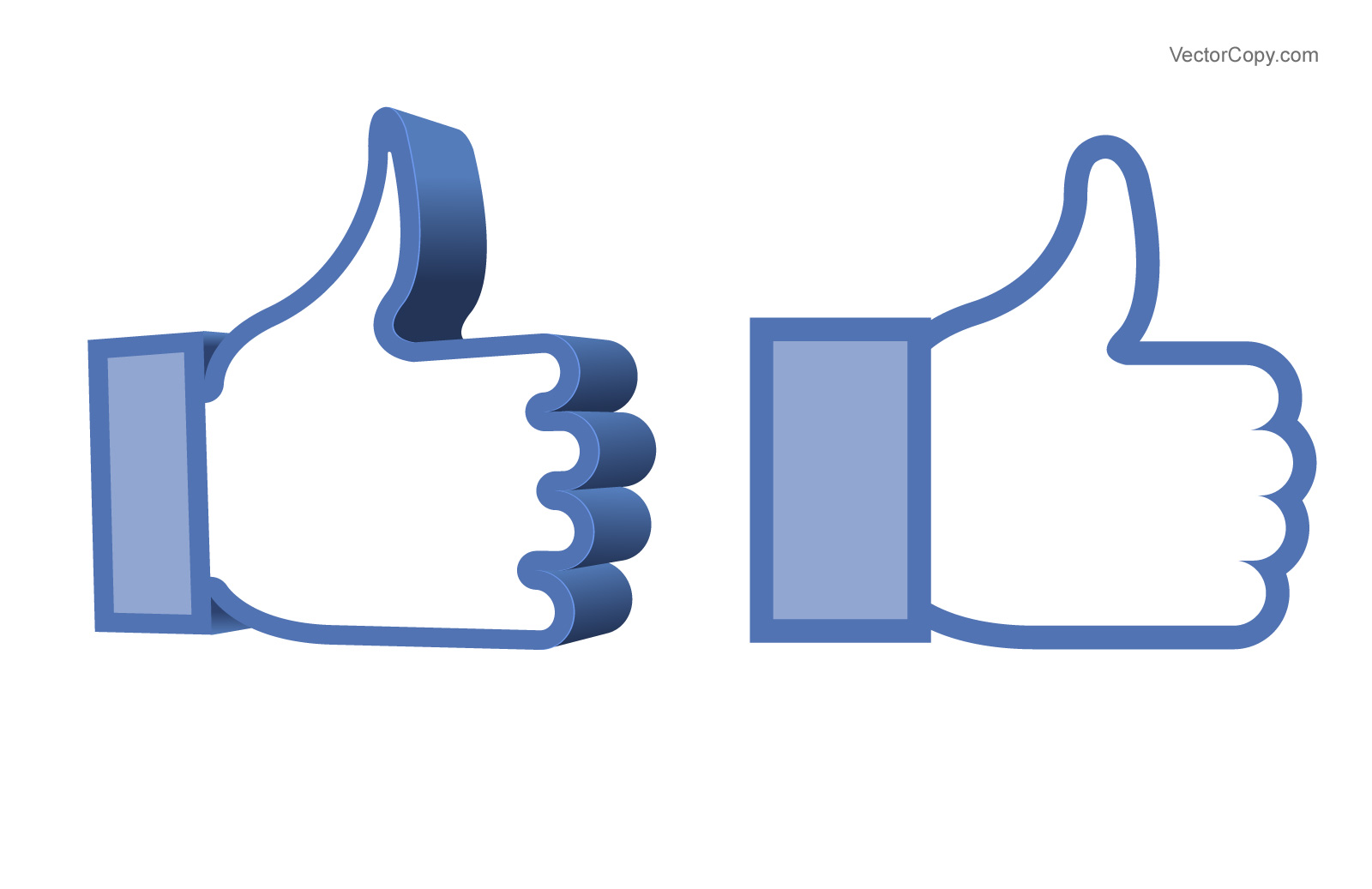 Facebook Like Thumbs Up Symbol
