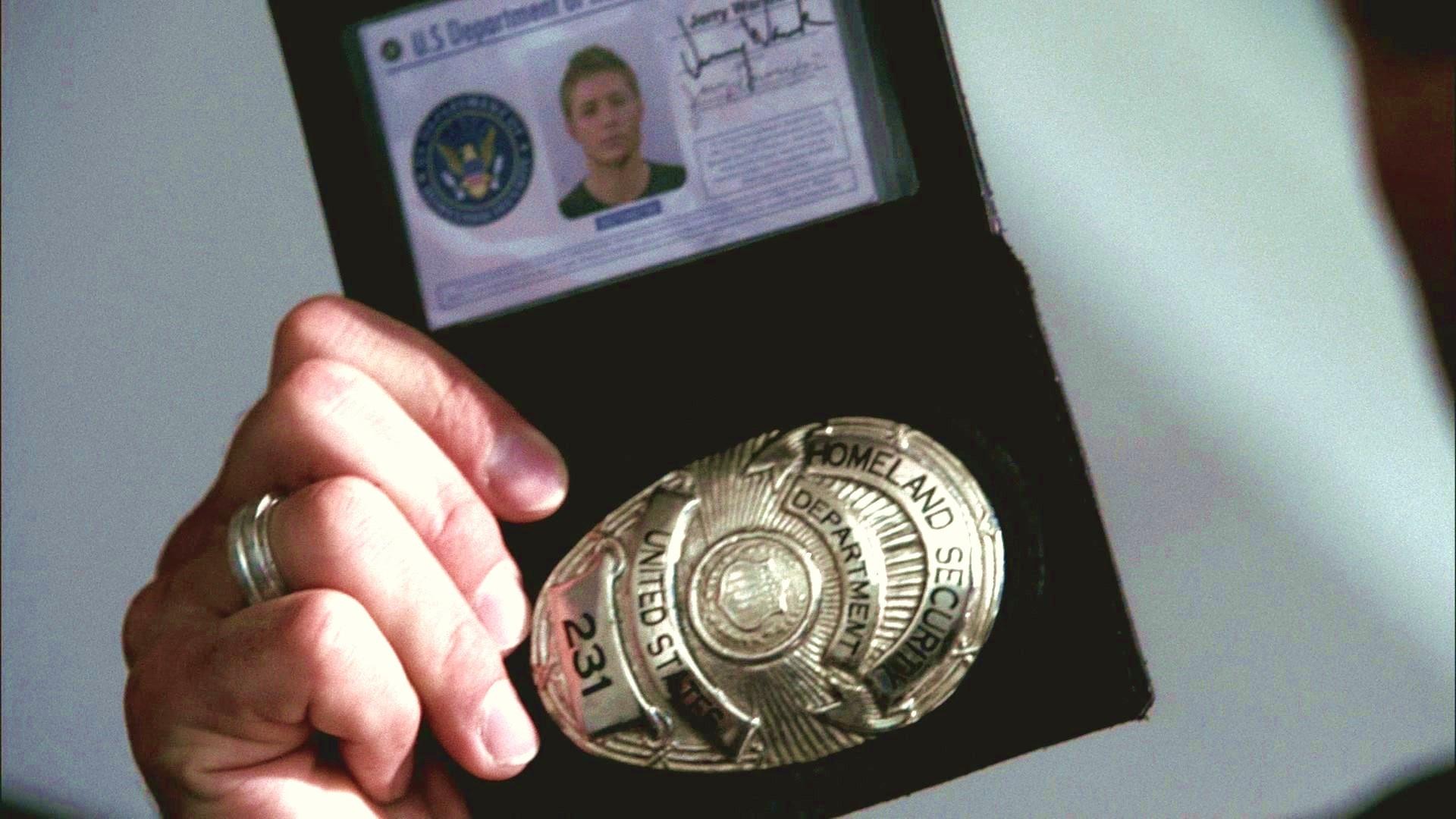 Fake Homeland Security Badge