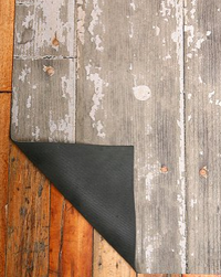 Faux Wood Floor Mat