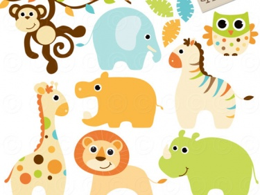 Free Baby Animal Clip Art