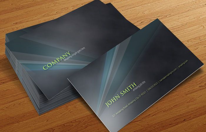 9 Photoshop Business Card PSD Images