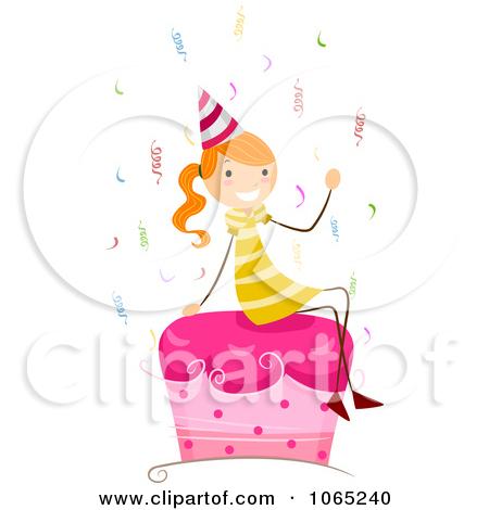 Free Clip Art Birthday Girl
