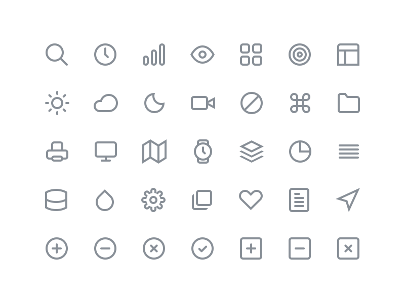 Free Feather Icons