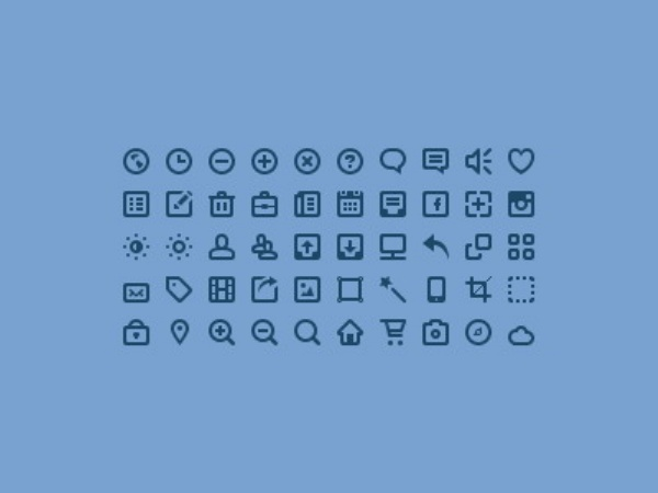 Free Minimalist Icon Set