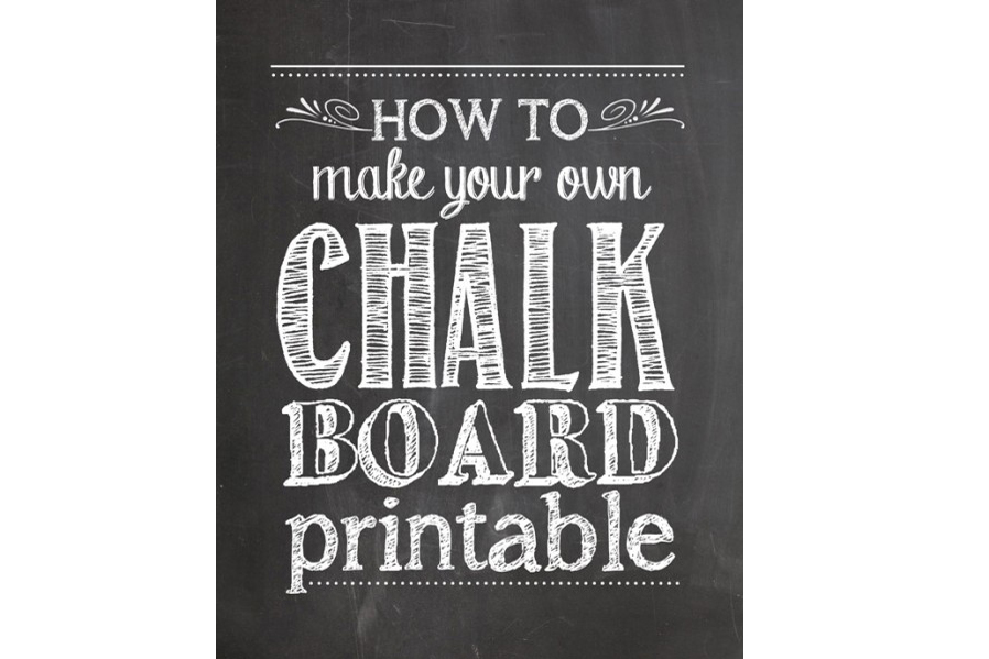 13 Can You Print Chalkboard Font Images Free Printable Chalkboard