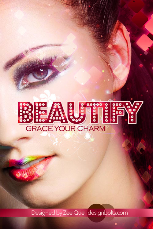 6 Make Up Psd Images