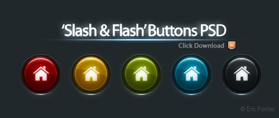 Free PSD Web Buttons