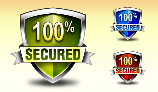 6 Security Badge Icon Images