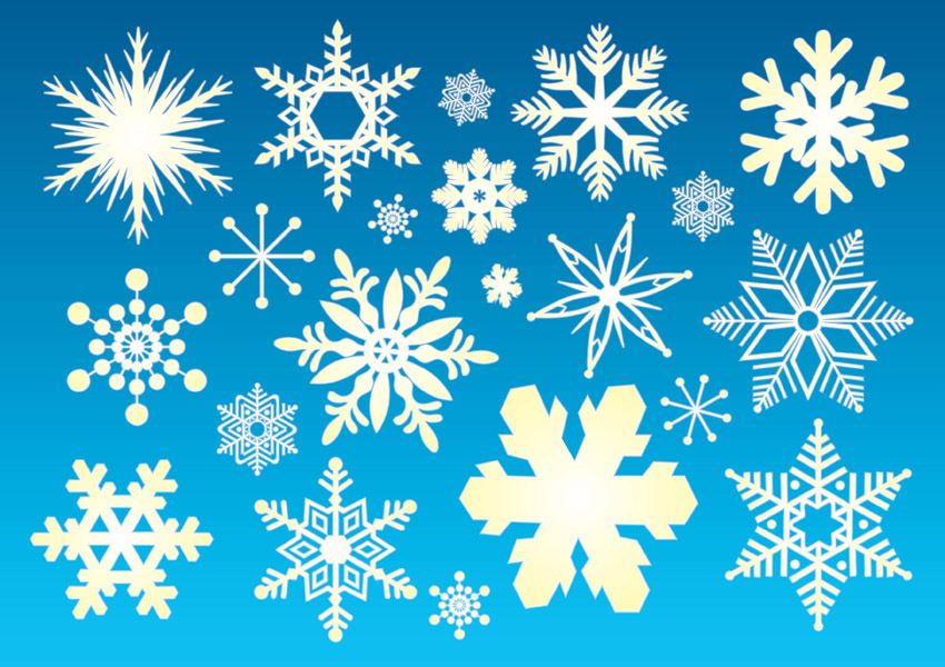 16 Snow Vector Free Images