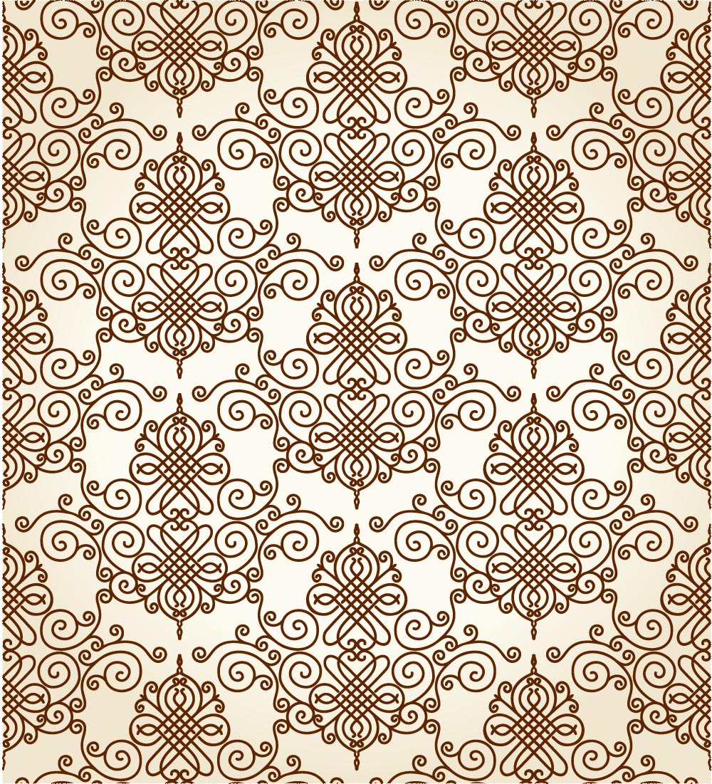 11 Continuous Pattern Vector Images - Cool Letter Patterns