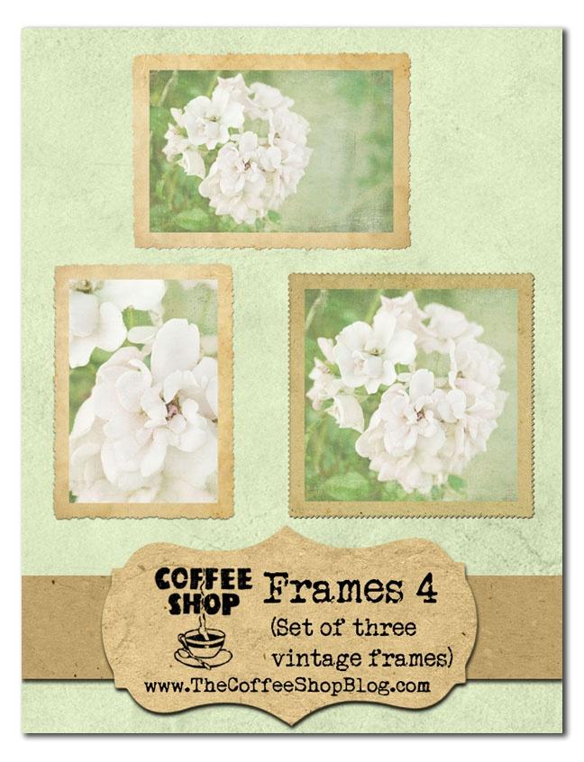 Free Vintage Frames Photoshop