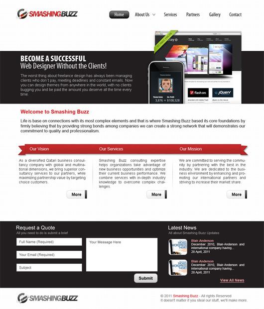 Free Web Design Layouts