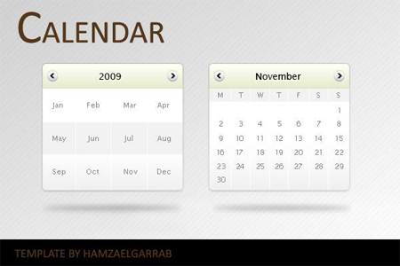Free Website Calendar Templates