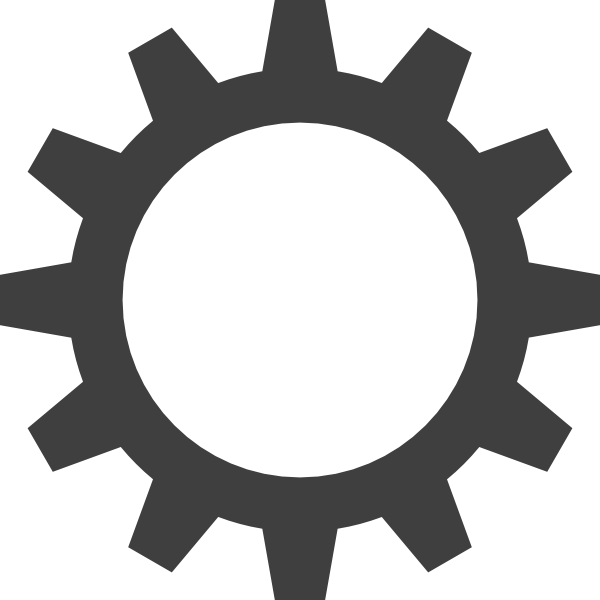 8 Gear Icon Clip Art Images